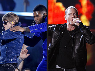 Who Gave the Performance of the Night at the Grammys? | Eminem, Justin Bieber, Usher