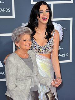 Katy Perry's Grammy Date: Her Grandma!