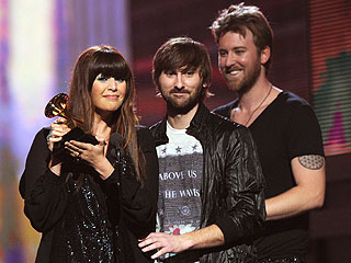 Lady Antebellum, Arcade Fire Win Big at Grammys | Charles Kelley, Dave Haywood, Hillary Scott, Lady Antebellum