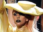 PHOTO: Lady Gaga&#39;s Egg-cellent Grammy Arrival | Lady Gaga