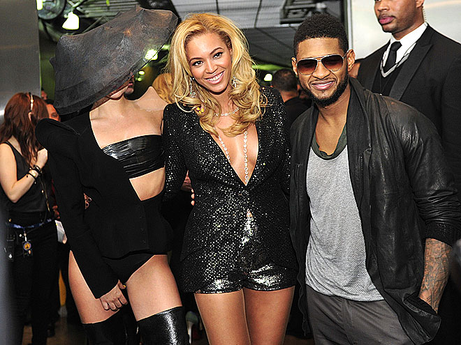 POWER TRIO photo | Beyonce Knowles, Lady Gaga, Usher