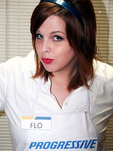 Flo progressive dating