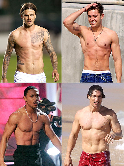 WHO HAS THE BEST ABS?