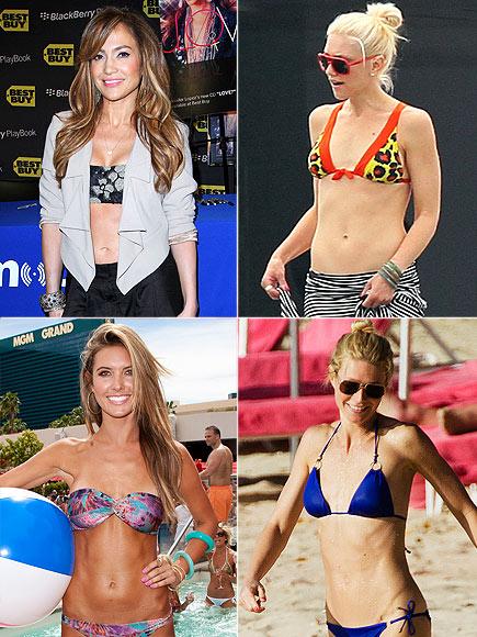 WHO HAS THE BEST ABS?  photo | Audrina Patridge, Gwen Stefani, Gwyneth Paltrow, Jennifer Lopez