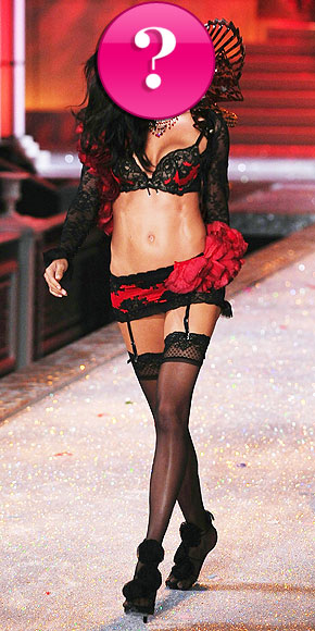 Which Victoria's Secret model has a strict