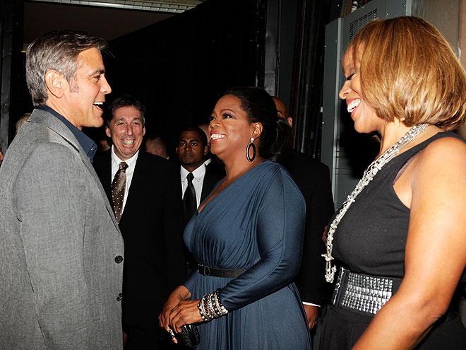 PERK IT UP  photo | Gayle King, George Clooney