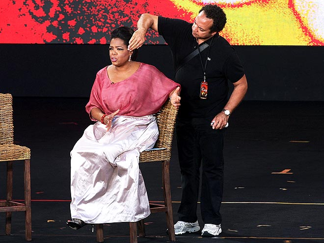 HER HAIR STYLIST: ANDRE WALKER