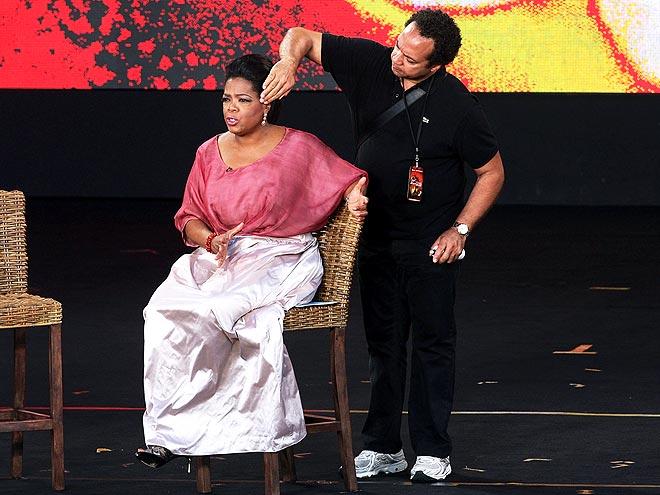 HER HAIR STYLIST: ANDRE WALKER  photo | Oprah Winfrey