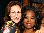 Oprah's All-Star Entourage | Julia Roberts, Oprah Winfrey
