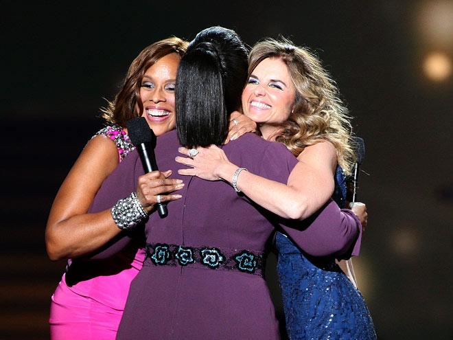 MARIA SHRIVER & GAYLE KING  photo | Gayle King, Maria Shriver, Oprah Winfrey
