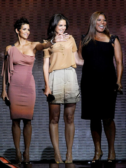 HALLE, KATIE & QUEEN LATIFAH