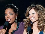 Inside Oprah's A-List Farewell | Maria Shriver, Oprah Winfrey