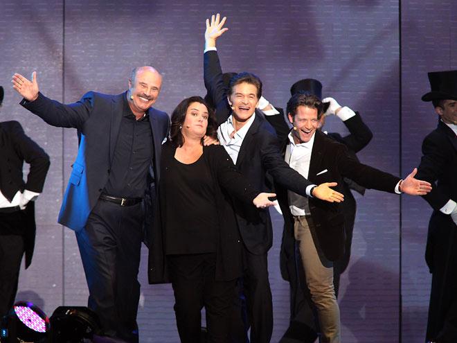 ROSIE O'DONNELL  photo | Dr. Oz, Nate Berkus, Phil McGraw, Rosie O'Donnell