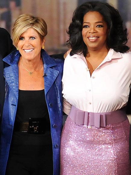 SUZE ORMAN  photo | Oprah Winfrey, Suze Orman