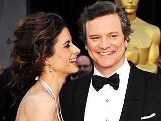 Smile! Oscar 2011 Candid Camera | Colin Firth