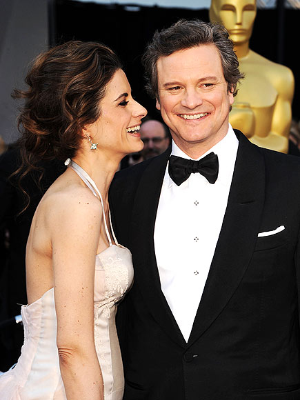 WHO NOSE? photo | Colin Firth
