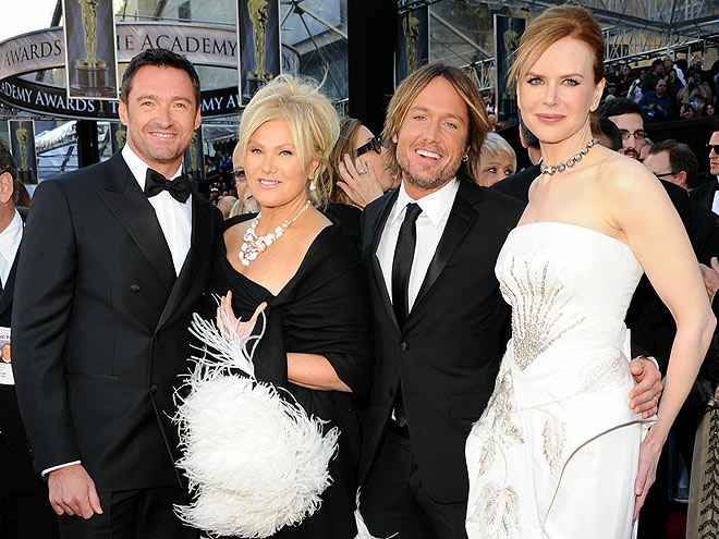 FANTASTIC FOUR  photo | Deborra-Lee Furness, Hugh Jackman, Keith Urban, Nicole Kidman