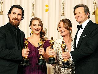 Oscars 2011: Winners & Nominees | Christian Bale, Colin Firth, Melissa Leo, Natalie Portman