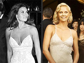 Oscar Style Double Takes! | Charlize Theron, Raquel Welch