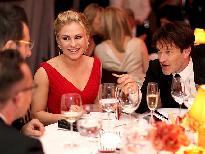 TABLE TALK photo | Anna Paquin, Stephen Moyer