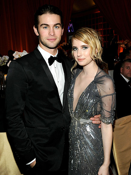 GLAM SQUAD photo | Chace Crawford, Emma Roberts