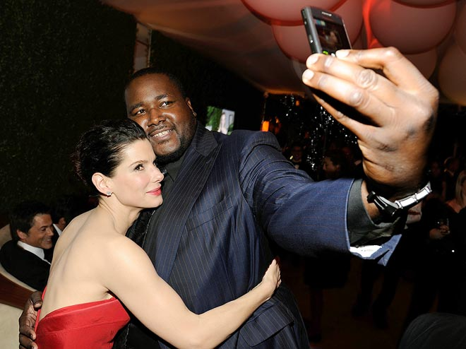 PICTURE PERFECT photo | Quinton Aaron, Sandra Bullock