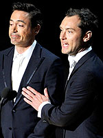 2011 Oscar Night&#39;s Funniest Quotes | Jude Law, Robert Downey Jr.