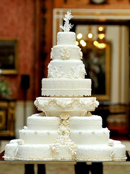 princess diana wedding cake. Royal Wedding Cakes: Princess