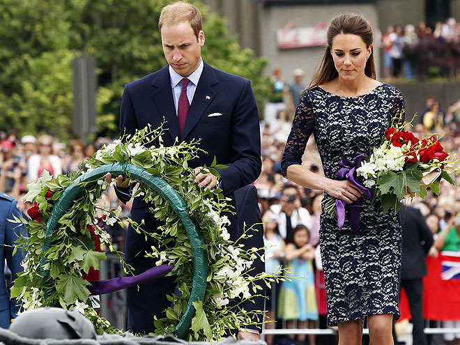 A MOMENT OF SILENCE  photo | Kate Middleton, Prince William
