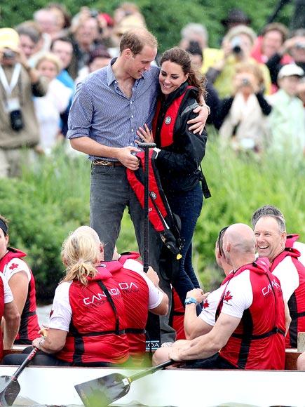 GOOD SPORT  photo | Kate Middleton, Prince William