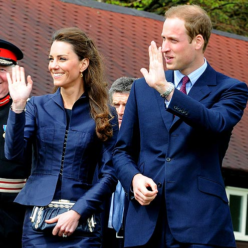Prince William & Kate Middleton: So In Sync