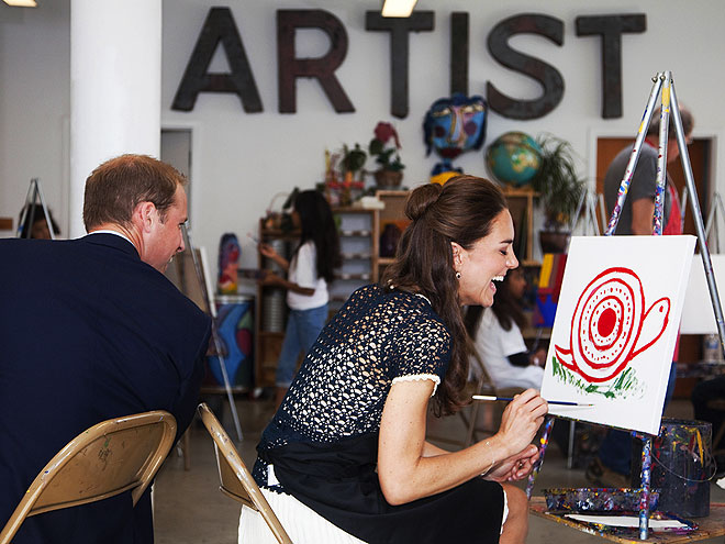 BUT IS IT ART?  photo | Kate Middleton, Prince William