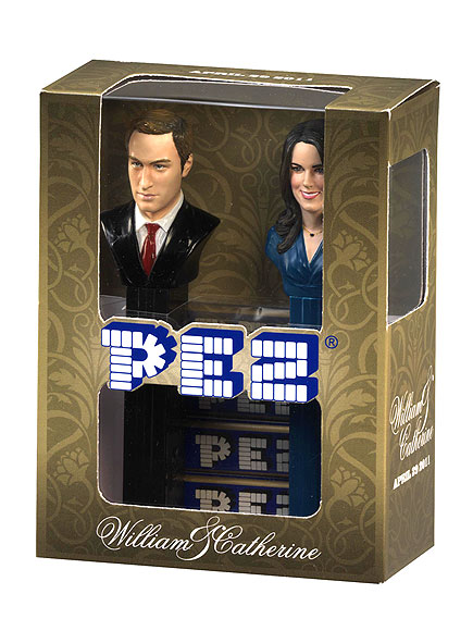PEZ DISPENSERS   photo | Kate Middleton, Prince William