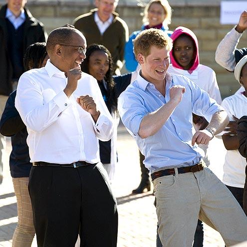 8. HE LIKES HAVING FUN  photo | Prince Harry