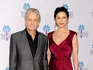 Celebs Party in Palm Springs | Catherine Zeta-Jones, Michael Douglas
