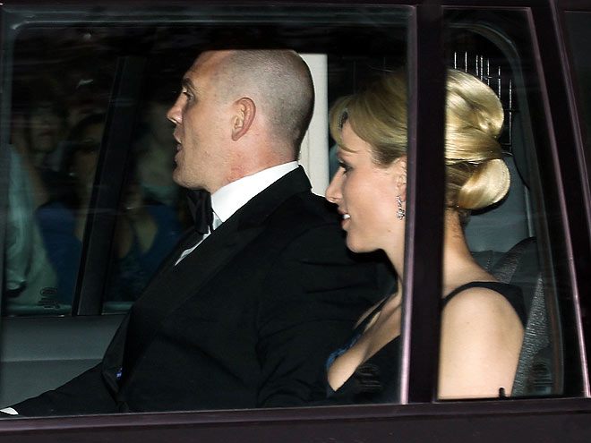 ZARA PHILLIPS AND MIKE TINDALL photo | Royal Wedding
