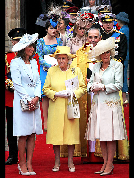 A ROYAL EXIT photo | Camilla Parker Bowles, Queen Elizabeth II