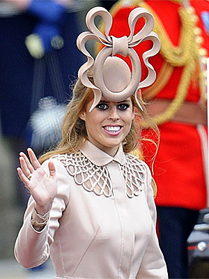Princess Beatrice's Hat Fetches $130,000 | Royal Wedding, Princess Beatrice