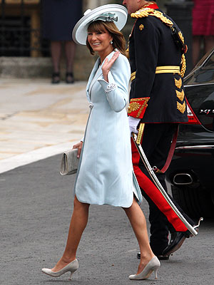 Carole Middleton Chooses a Catherine Walker Dress for Royal Wedding | Royal Wedding