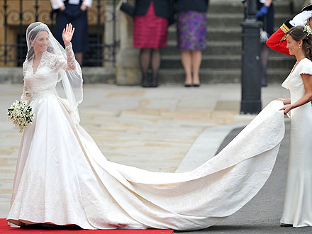 Kate Middleton's Dress Is Finally Revealed| Royal Wedding, Kate Middleton, Prince William