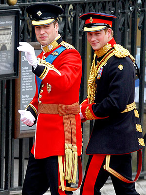 Royal Wedding - Prince William, Prince Harry and Kate Middleton