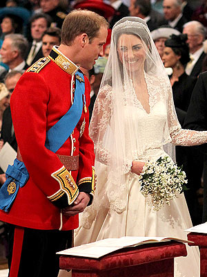 Prince William and Catherine Middleton Are Married