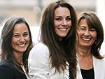 Kate & William's Pre-Wedding Cheers! | Carole Middleton, Kate Middleton, Pippa Middleton