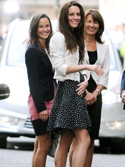 BRIDAL PARTY photo | Carole Middleton, Kate Middleton, Pippa Middleton