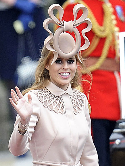 PRINCESS BEATRICE'S HAT: HUH? photo | Royal Wedding