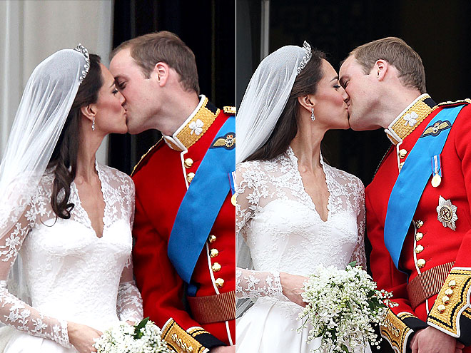 MOST ROMANTIC KISS: NO. 2 photo | Royal Wedding, Kate Middleton, Prince William