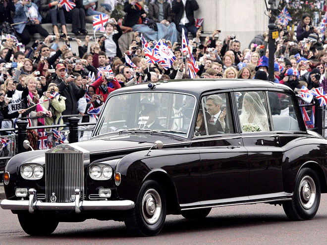 ROLLS-ROYCE PHANTOM VI  photo | Royal Wedding, Kate Middleton