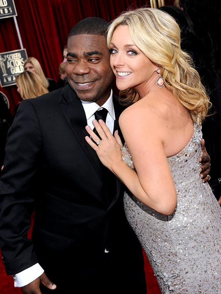 TRACY & JANE   photo | Jane Krakowski, Tracy Morgan