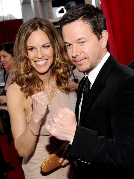 HILARY & MARK  photo | Hilary Swank, Mark Wahlberg