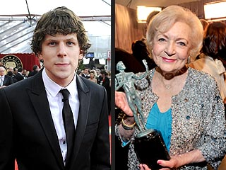 Best Quotes at the 2011 SAG Awards | Betty White, Jesse Eisenberg